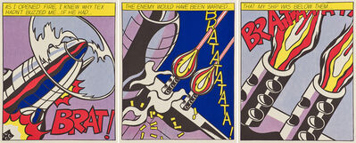 Roy Lichtenstein, 'As I Opened Fire', 2000