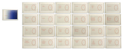Louise Bourgeois, 'Hours of the Day', 2006
