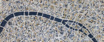 Barbara Macfarlane, 'Paris Gold and French Blue', 2017
