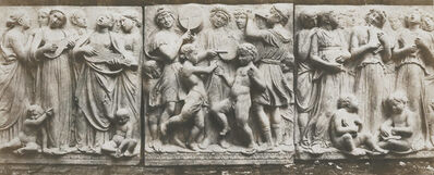 Charles Marville, 'Marble Base-Relief by Luca Della Robbia', 1853-1854