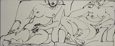 David Smith, 'Untitled (Nudes)', 1964