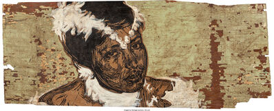 Swoon, 'Portrait of Silvia Elena', circa 2008