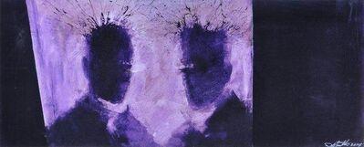 Richard Hambleton, 'Purple Shadow Heads ', 2014