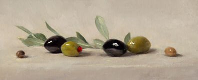 Sarah Lamb, 'Olives and Leaves', 2019