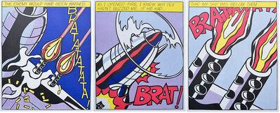 Roy Lichtenstein, 'As I Opened Fire', 1983