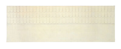 Agnes Martin, 'The Heavenly Race (Running)', ca. 1959