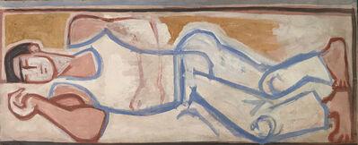 John Craxton, 'Sleeping Figure', ca. 1956