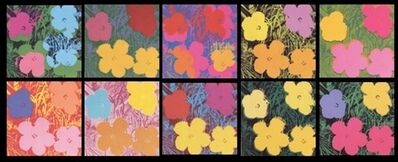 Sunday B. Morning, 'Flowers (Portfolio of 10)', 1980