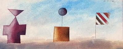 Jiri Tibor Novak, 'Monuments 3 (framed)', 2018