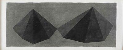 Sol LeWitt, 'Asymmetrical Pyramids', 1986