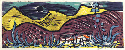 Werner Drewes, 'California Hills', 1959