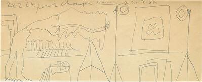 Pablo Picasso, 'Etude pour le Photographe', 1964