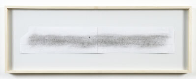 Helen Mirra, 'Spark Drawing (Reference)', 2006