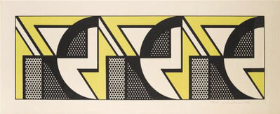Roy Lichtenstein, 'Repeat Design ', 1969