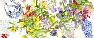 Gary Bukovnik, 'Composition with Tumbling Vases', 2019