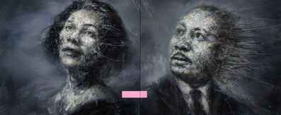 Mathieu Laca, 'Coretta Scott and Martin Luther King', 2019