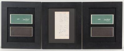 Andy Warhol, 'Warhol Ones (four bills)', 1971