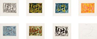 Joan Miró, 'Jacque Dupin, Saccades', 1962
