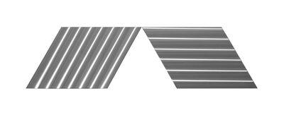 """Getulio Alviani, 'doppia diagonale """"O"""" e """"V""""', 1992"""