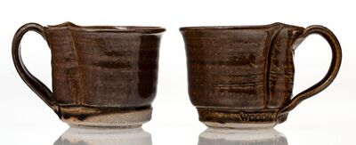 Betty Woodman, 'Two Coffee Cups'