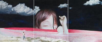 Minoz, 'Rojo Tiamat', 2015