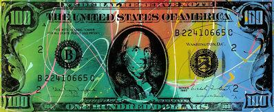 Steve Kaufman, '$100', 1995-2005