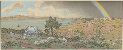 Henri Rivière, 'L'Arc-en-ciel, plate 3 from the suite La Féerie des heures', 1901