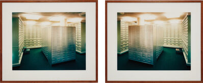 Andreas Gursky, 'Zürich Bankproject No. 5', 1997