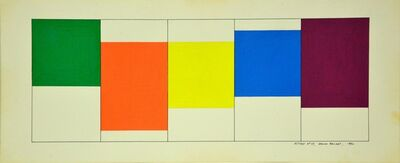 Waldo Balart, 'Ritmo no. 10', 1982