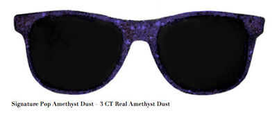 Stacy Engman, 'Signature Pop Amethyst Dust – 3 CT Real Amethyst Dust', 2019