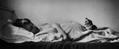 Elliott Erwitt, 'Louise & Cat', 1953