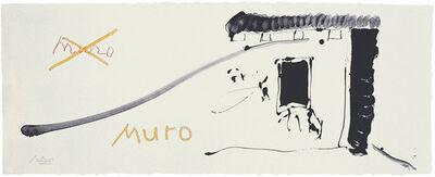 Robert Motherwell, 'Black Wall of Spain', 1983