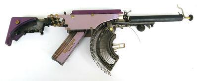 Eric Nado, 'Remington Purple USA - Typewriter Machine Gun series', 2019