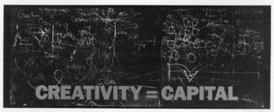Joseph Beuys, 'Creativity = Capital', 1983