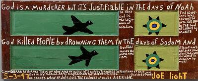 Joe Light, 'God is a Murderer', 1990s