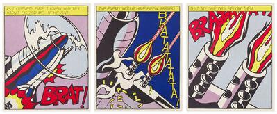 Roy Lichtenstein, 'As I opened Fire', 1966
