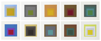Josef Albers, 'Homage to the Square', 1962