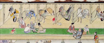 Yamaguchi Akira, 'Horse Stable', 2001