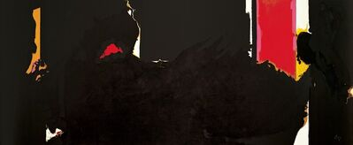 Robert Motherwell, 'Face of the Night (For Octavio Paz)', ca. 1977 -1981