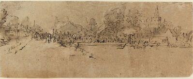 Rembrandt van Rijn, 'View of Diemen', ca. 1655