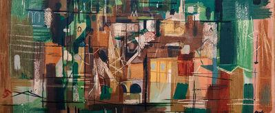 John Piper, 'Stones of Bath', 1962