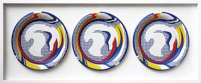 Roy Lichtenstein, '3 Paper Plates', 1969