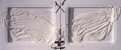 Antoni Tàpies, 'Díptic amb ales', 2001