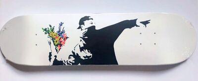Banksy, 'Flower Bomber Skate Deck', 2018