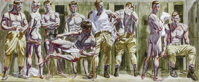 Mark Beard, 'Locker Room', date unknown