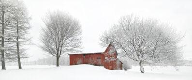 Jim Westphalen, 'Charlotte Barn - Winterscape 1', 2017