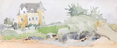 Javier Arizmendi, 'St. Briac, France / watercolor, matted in archival sleeve ', 2012