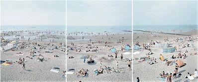 Massimo Vitali, 'Knokke Triptych', 2006