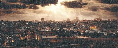 David Drebin, 'JERUSALEM DIAMOND DUST', 2020