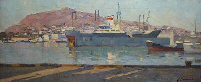 Aleksandr Timofeevich Danilichev, 'Port of Kierch', 1958